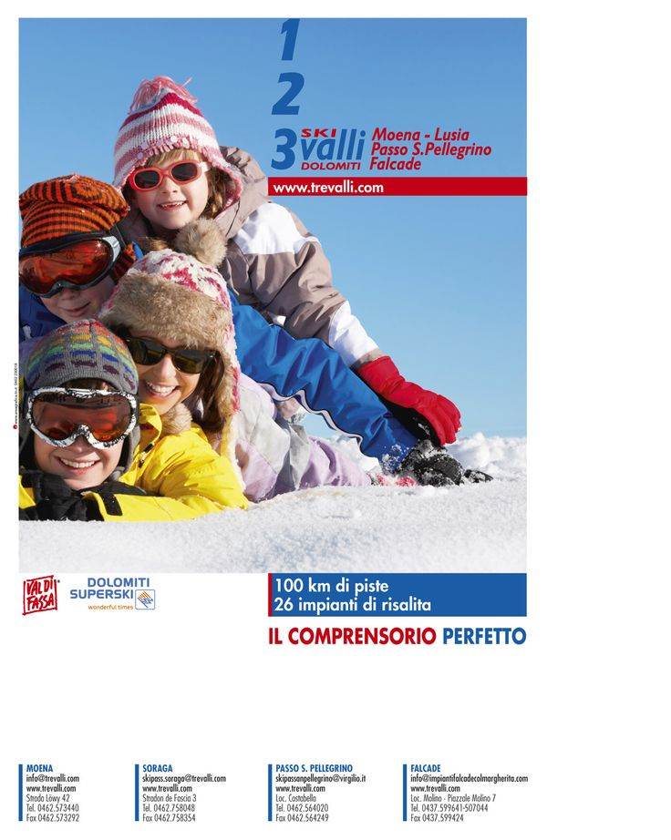 Pagina pubblicitaria: Tre Valli Committente: Consorzio Impianti a Fune Tre Valli