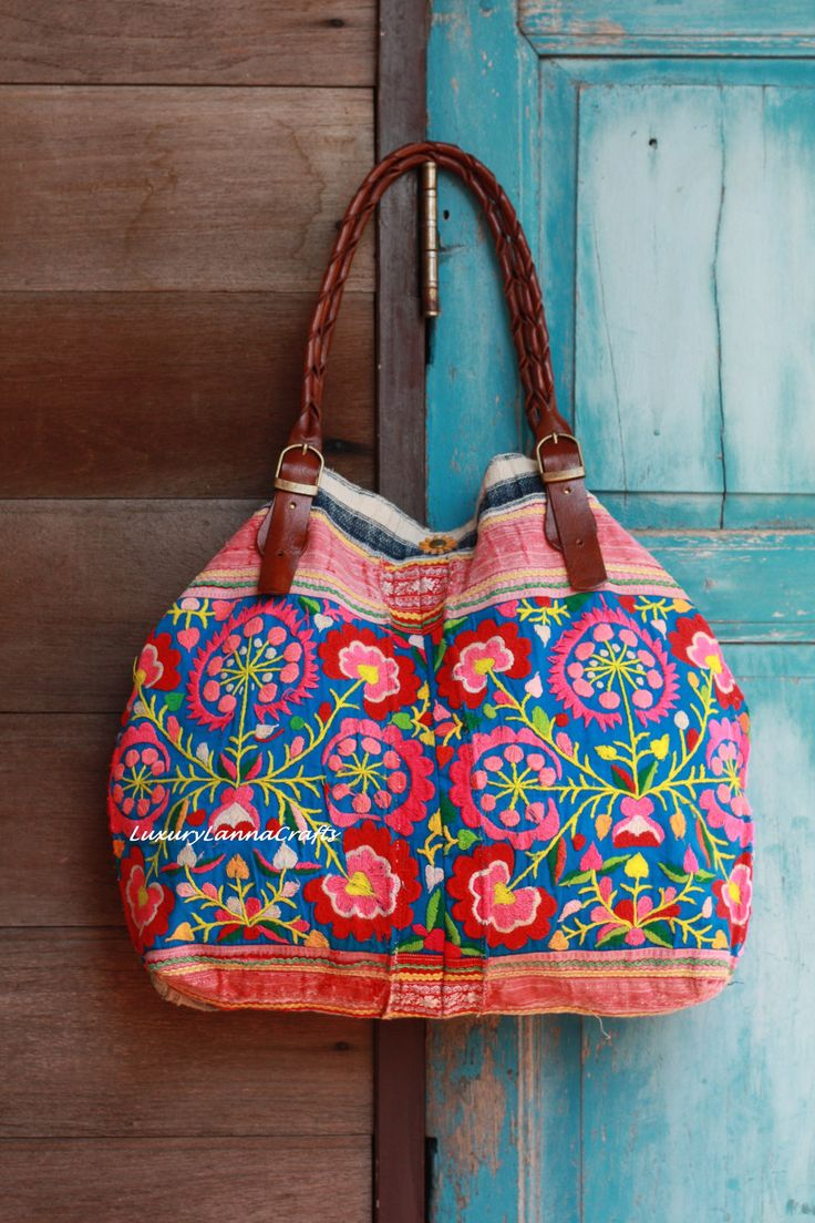 Luxury Tribal Ethnic Handmade Tote Bag L178-K2 | Ethnic ...