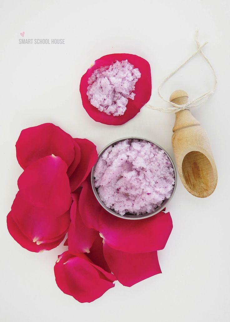10 Delightful DIY Rose Skin Care Recipes –DIY ROSE SUGAR SCRUB
