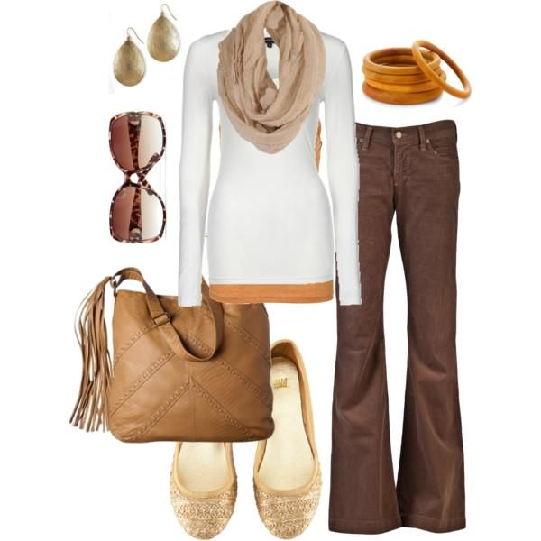 Fall Outfit: Casual Friday, Fashion, Casual Outfit, Style, Fall Work Outfits, Fall Outfits, Brown Pants, Fall Winter