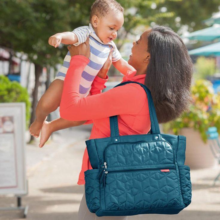Skip Hop Peacock Forma Pack & Go Tote | Shop Diaper Toddler Baby Bags Online