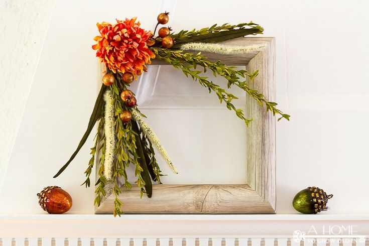 Turn a Pool Noodle into a Wood Wreath