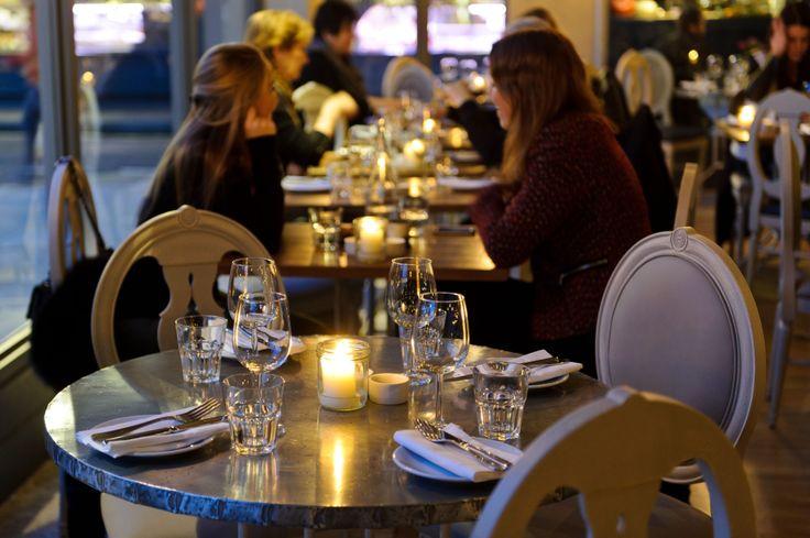 Dinner at Aubaine Marylebone
