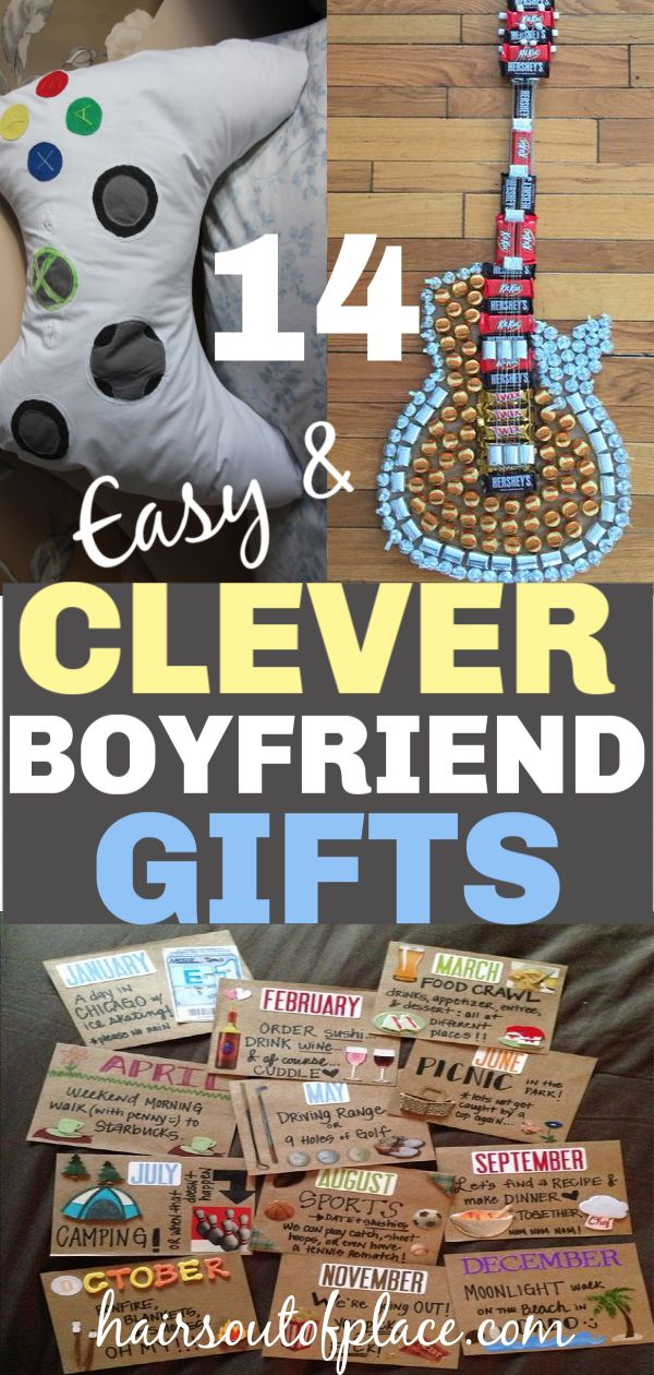 20+ Amazing DIY Gifts for Boyfriends That are Sure to