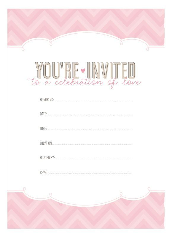 297 Best Letu0027s Have A Wedding Images On Pinterest   Free Monogram, Monogram  And Monogram Fonts  Free Templates For Bridal Shower Invitations