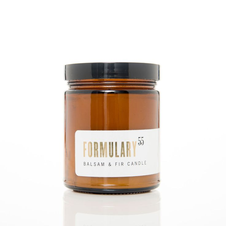 Balsam & Fir. Shop now at The Candle Library. Formulary 55 candles are hand lured in the US using 100% natural vegetable wax.