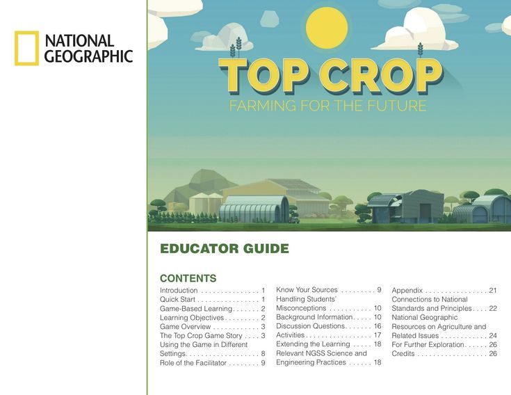 Use this educator guide to engage students in Grades 6-9 with Top Crop: Farming for the Future game in a variety of settings, both in…