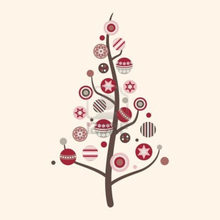 whimsical christmas tree clip art free - photo #8