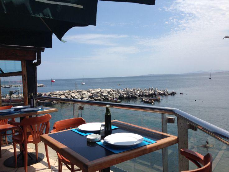Lunch in Vina Del Mar. Beautiful.