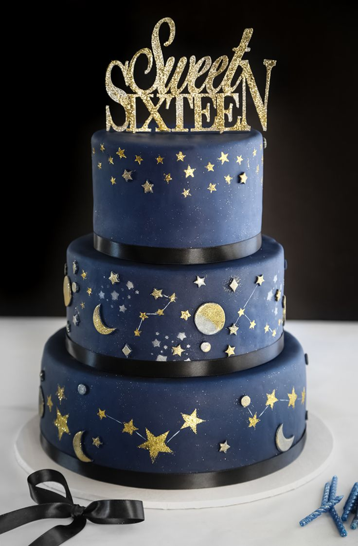 Cake Designs For Sweet Sixteen : Best 25+ Sweet 16 cakes ideas on Pinterest Sweet 16 ...