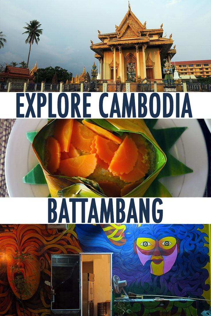 The most underrated place in Cambodia is gorgeous Battambang with SO MANY amazing attractions to  offer together with great food, stunning temples and the one and only winery in Cambodia!