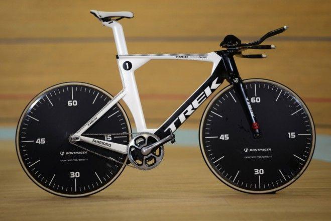 Jens Voigt hour record bike