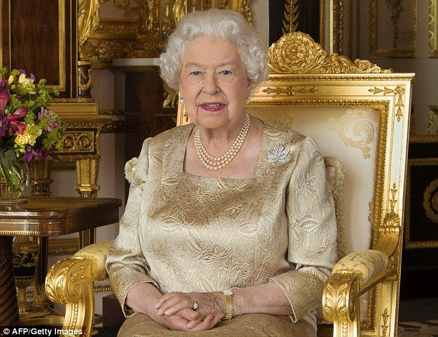 The portrait of the Queen released by Buckingham Palace to mark Canada Day...
