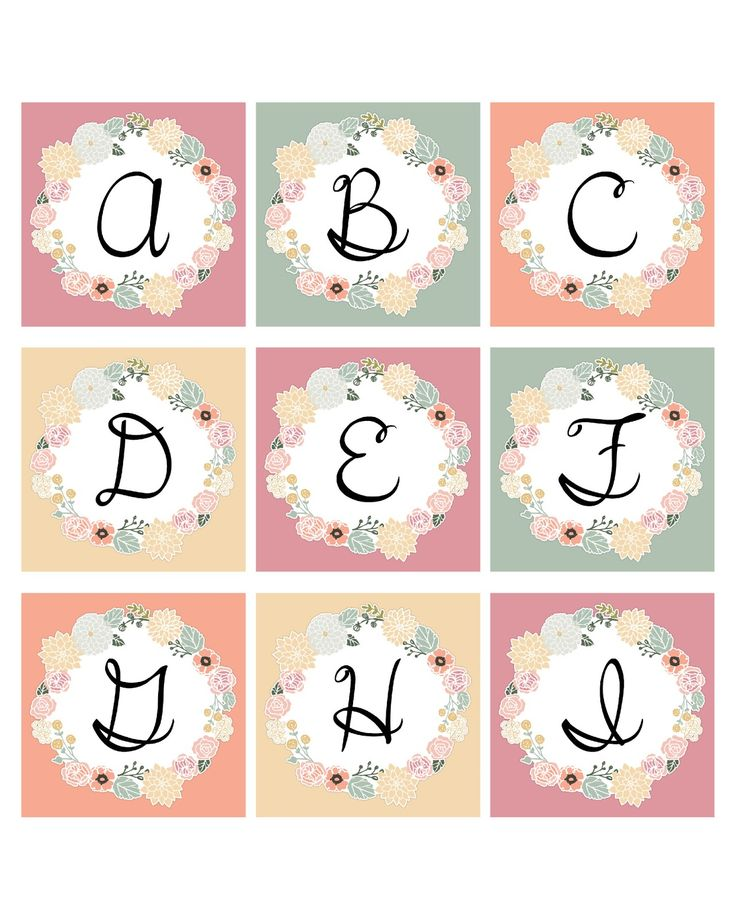 A full decorative Alphabet to use as tags...to create banners...to decorate with...create your own monogrammed note cards...the sky is the limit!  ENJOY!