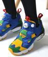 Reebok INSTA PUMP FURY BRAZIL WORLD CUP BLUE/YELLOW/GREEN