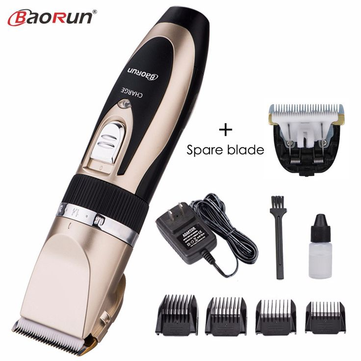 Professional Electric Hair Clipper Rechargeable Hair Trimmer for Men Child Hair Cutting Machine Fast Charging With Spare Blade