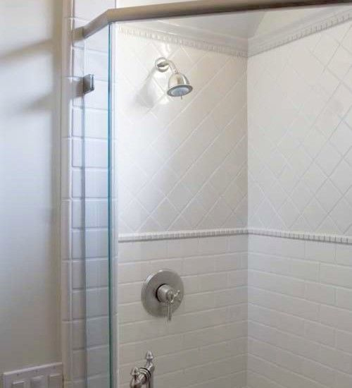 Bathrooms With White Tile Showers: 1000+ Images About 2nd Floor Bath On Pinterest