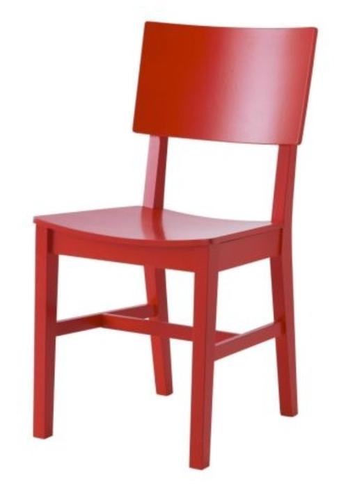 Modelos de silla en color rojo colores for Sillas de cocina rojas