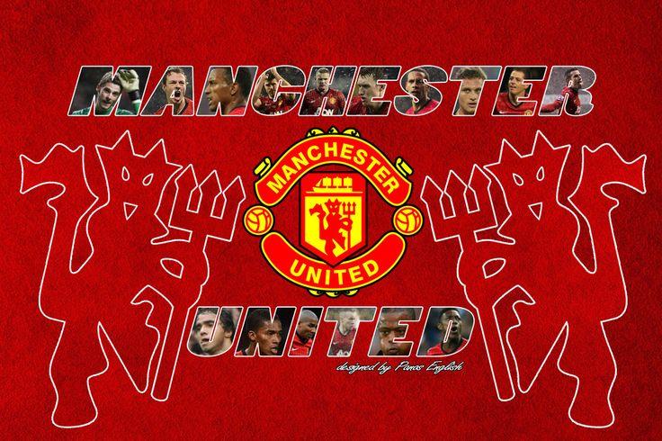 Manchester United fc Wallpaper ART by PanosEnglish.deviantart.com on @DeviantArt