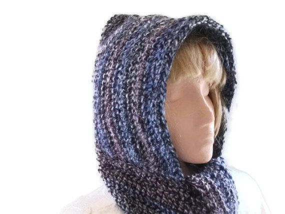 Crochet PATTERN/Tutorial for Hooded Scarf by UniquelyYourDesigns, £4.00