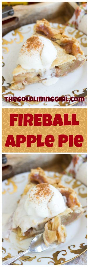 The best ever apple pie just got the most amazing upgrade. This perfect Fireball Apple Pie is baked with a delicious sweet, cinnamon syrup, and is infused with Fireball for a boozy makeover!