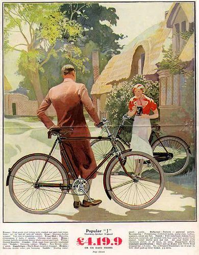 """Sturmey Archer """"Popular L"""" ad, cycle"""