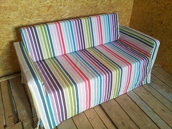 Slipcover for Solsta sofa-bed from IKEA by KustomCovers on Etsy