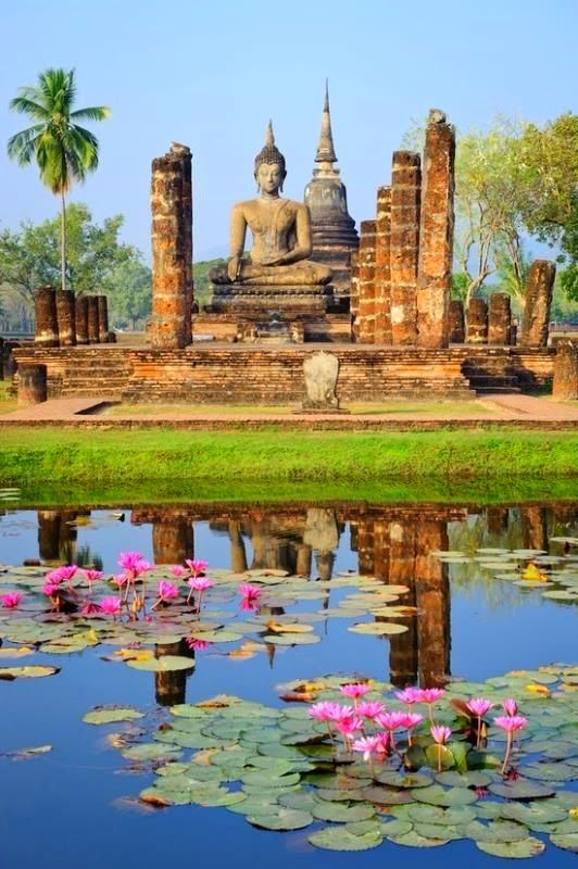 Sukhothai, Thailand #Yellowmenace  #TookYaangThai