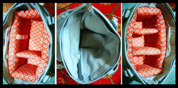 how to transform a bag into padded camera bag