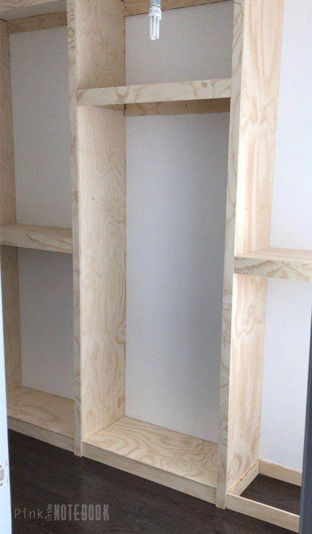 How To Build A Diy Custom Closet Organizer For A Walk In Closet 04