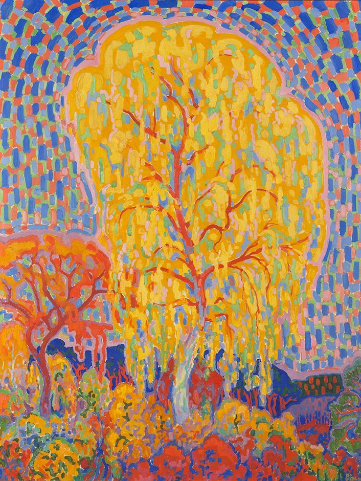 """ Leo Gestel (Dutch, 1881-1941) Autumn Tree (Herfstboom), 1911 Gemeentemuseum Den Haag, Amsterdam, Holland  """