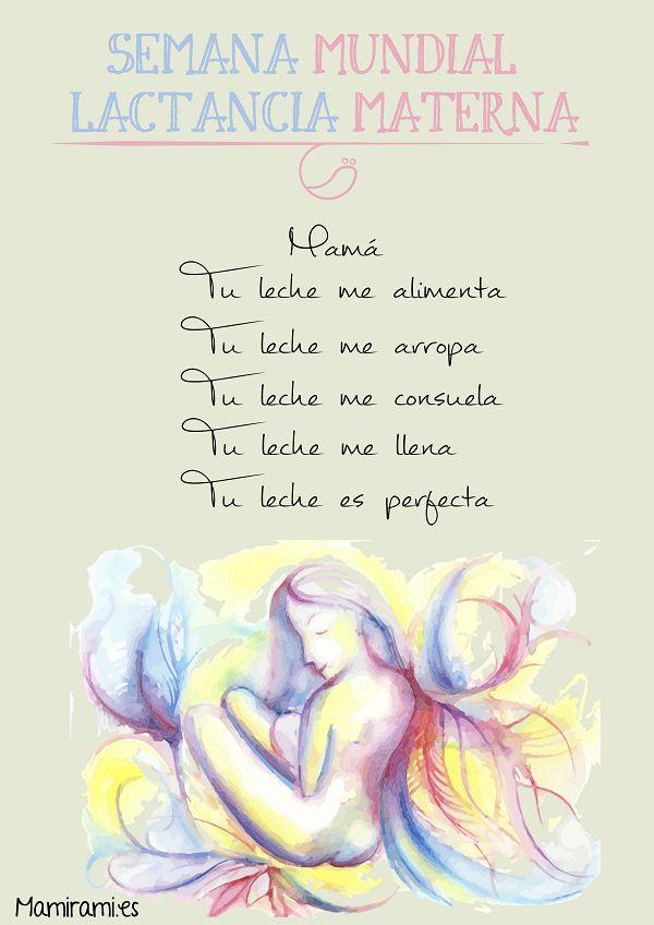 www.mamirami.es Semana Mundial de la Lactancia Materna
