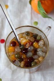 acquaviva scorre: perle di tapioca al miele, quasi un bubble tea
