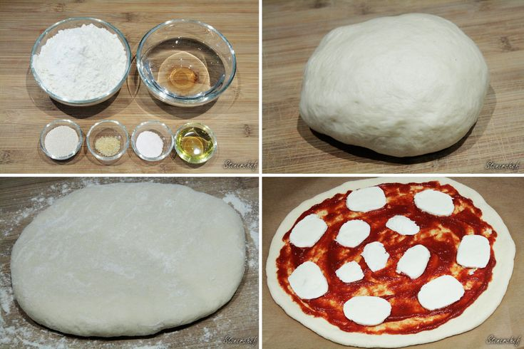 Od deski do deski: ciasto chlebowe na pizzę (bez rozwałkowania)