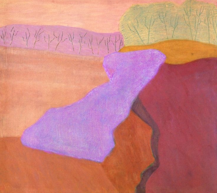 Shapes of Spring Milton Avery - 1952