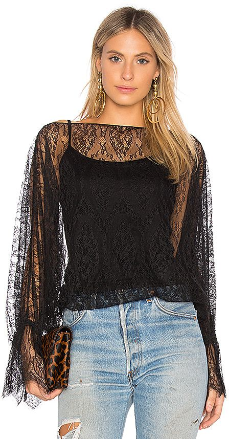 Bailey 44 Bliss of Insanity Lace Top