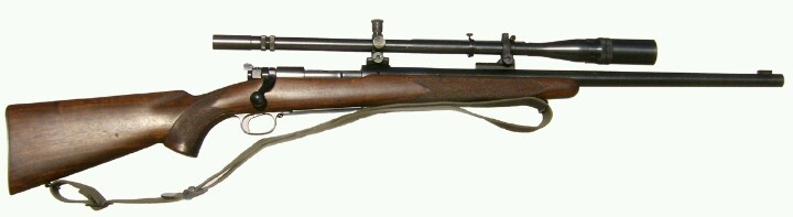 Winchester model 70 used by Carlos Hathcock