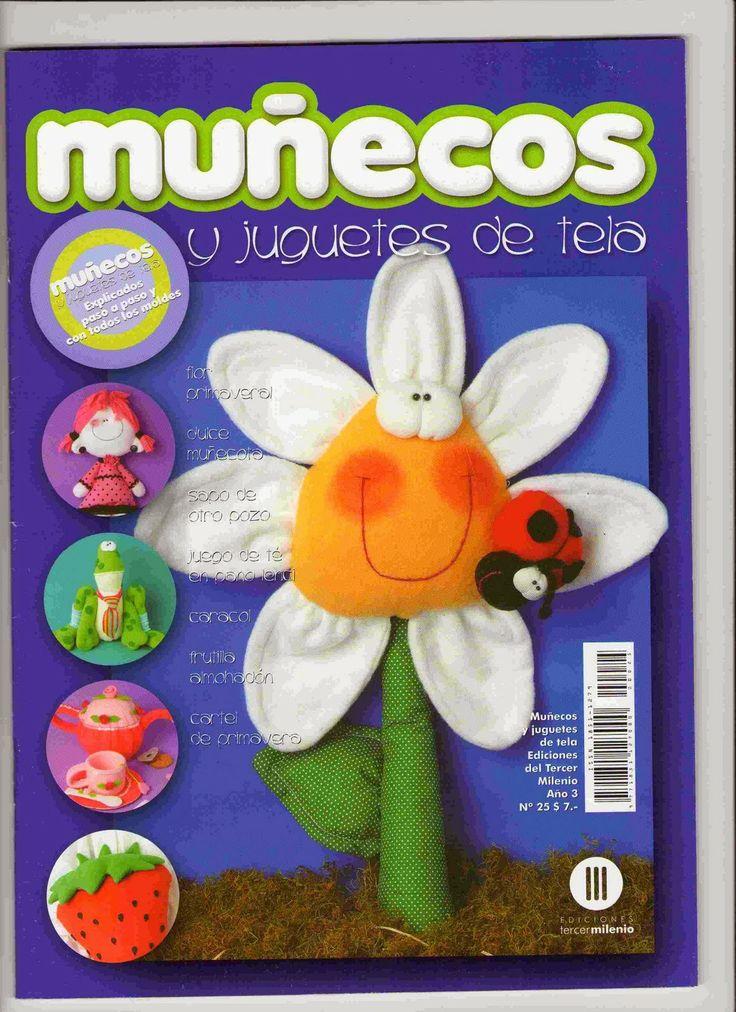 Revistas de manualidades Gratis: Revista gratis muñecos y juguetes en tela