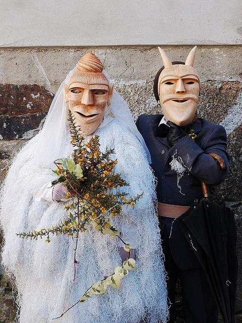 Carnaval de Lazarim, Portugal  Carnival time in Northern Portugal!