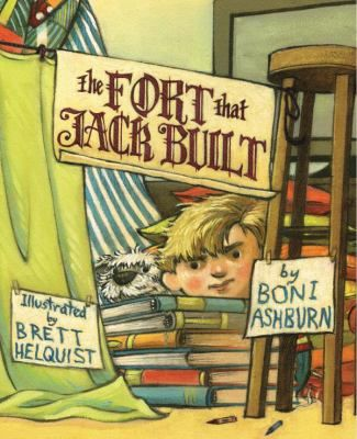 """FICTION:""""In this take-off of the nursery rhyme """"The House That Jack Built,"""" Jack builds an amazing fort in the middle of the living room. Unfortunately the rest of his family intrudes when they request their supplies back, Gr. K-2."""