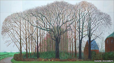 Bigger Trees Near Warter, 2007. Copyright: David Hockney. Photography by Richard Schmidt. Collection of Tate, London