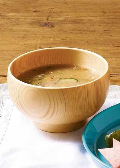 夏の冷やし味噌汁 | miso soup chilled summer