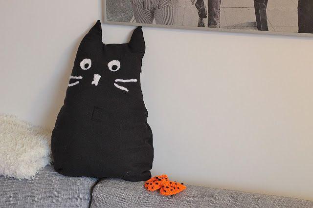 chat noir noeud papillon crochet halloween