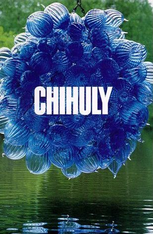 Chihuly blue balls