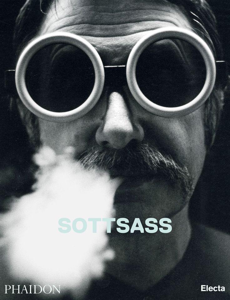 La copertina del volume Sottsass, Phaidon
