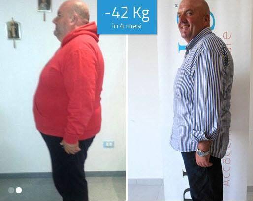 Giuseppe Di Latte: -42 Kg in 4 mesi Scopri come ho fatto