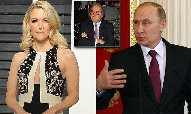 Will Megyn Kelly's first NBC interview be with Putin? | Daily Mail Online