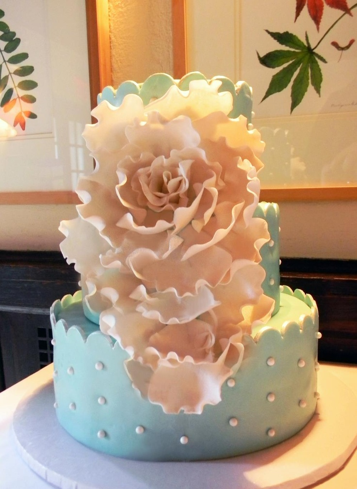 City Sweets & Confections Cake for Kath & Eugene @ The New Leaf Cafe - Cloisters NY May 2013! Wild strawberry cake with vanilla bean mascarpone frosting!  https://www.facebook.com/citysweets Twitter:@nycitysweets