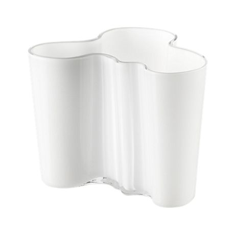 Iittala - Alvar Aalto Collection Vase 160mm white - In stock Palm Beach Home $322