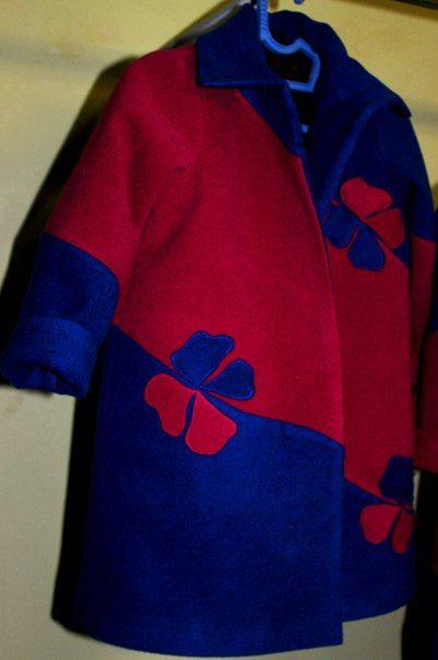 """Дизайнерское весеннее пальто для девочки от ателье """"ЛАБОРАТОРИЯ ОДЕЖДЫ"""" Coat for girl"""